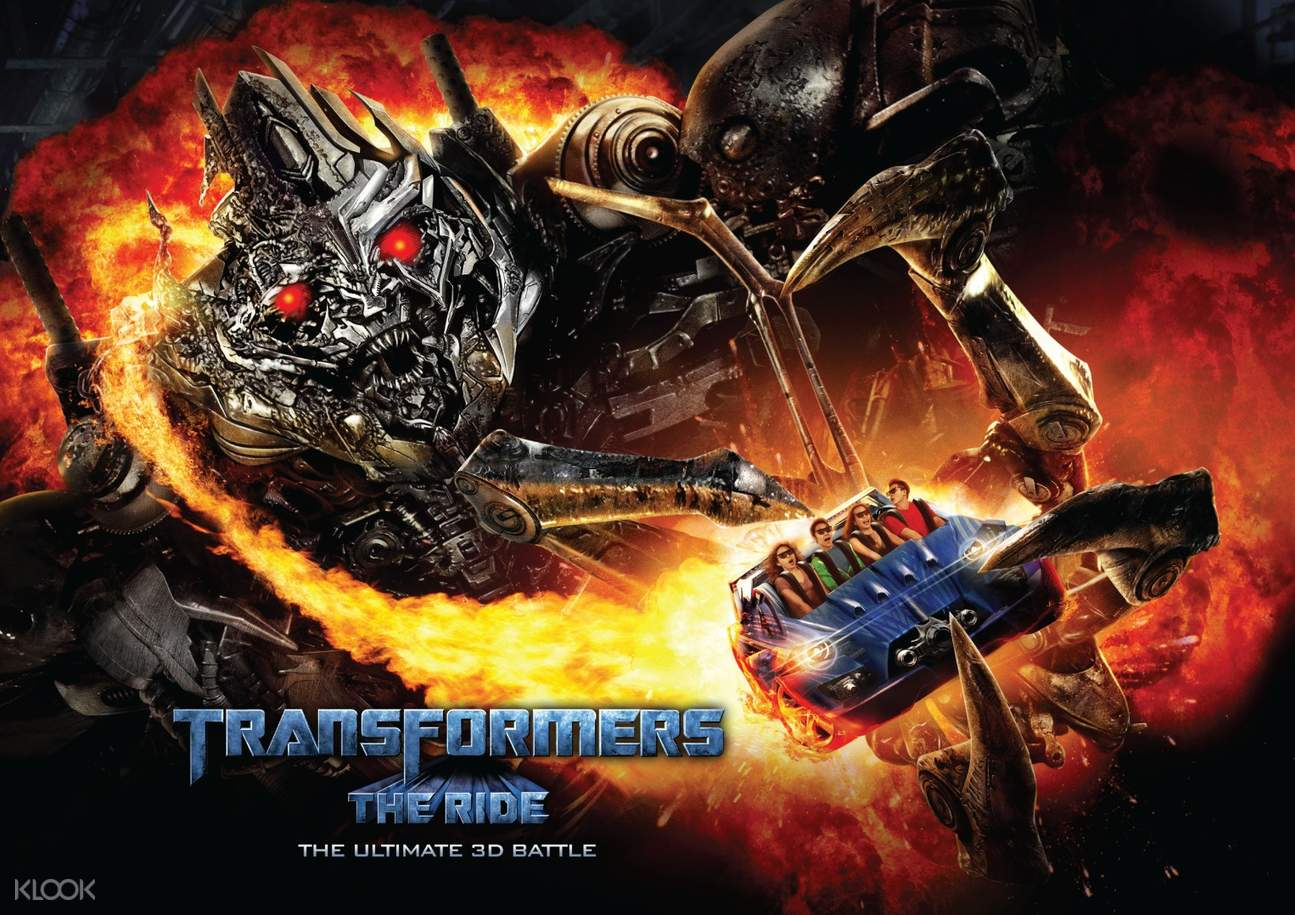 a Transformers-themed attraction in Universal Studios Singapore™